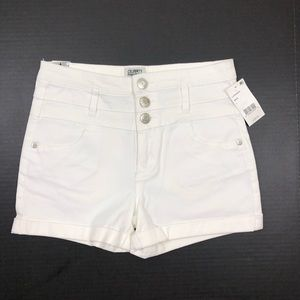 NWT Celebrity Pink High Rise Button Fly Shorts